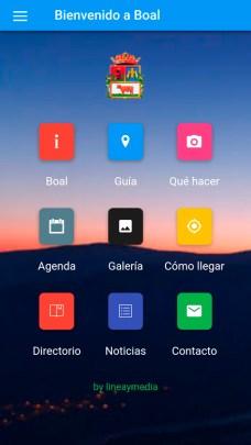 aplicación para móviles de Boal01