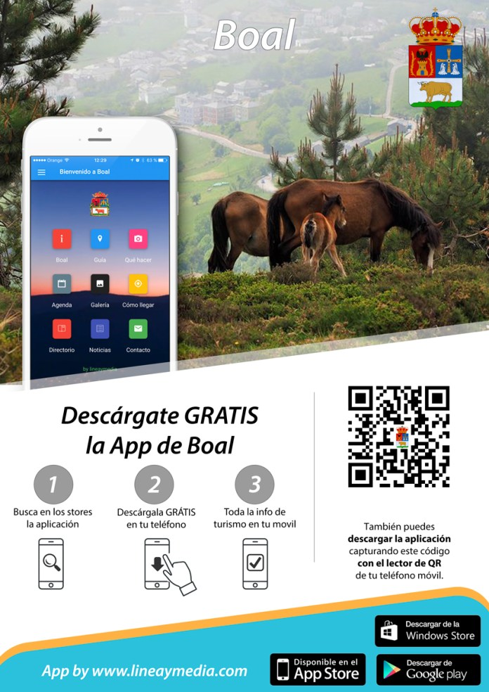 aplicación para móviles de Boal