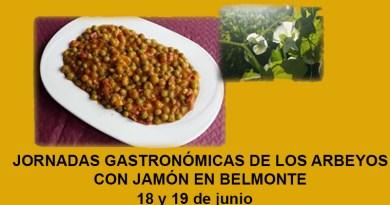 arbeyos con jamon en Belmonte