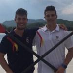 Sexto y décimo segundo puesto para los vegadenses Iván Rico y Gonzalo Pérez en los Mundiales de Remo