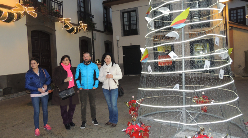 campaña navidad comercio Cangas del Narcea