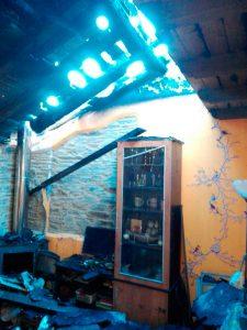 Incendio en Grandas de Salime
