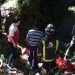 Herido un ganadero en Ibias tras caer varios metros en el monte