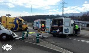 Accidente Jarrio Coaña