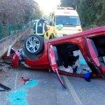 Un herido en accidente de tráfico en Armental, en Navia