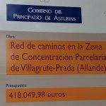 Comienzan las obras de caminos de la concentración parcelaria Villagrufe-Prada, en Allande