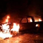 Arde un vehículo en Grandas de Salime