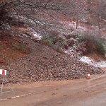 Problemas en las carreteras e inundaciones en el Occidente por el paso de la borrasca 'Ana'