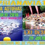 28 y 29 de julio, fechas oficiales para el Descenso a Nado de la Ría de Navia