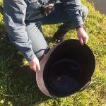 La Guardia Civil localiza un vivero clandestino de angulas en Abres