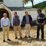 En marcha las obras de la plaza de Paramios, en Vegadeo