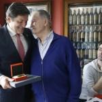 Javier Fernández, en la clausura de la Bienal Casa Consuelo