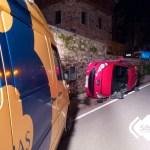 Un herido en accidente de tráfico en Muñás de Arriba, en Valdés