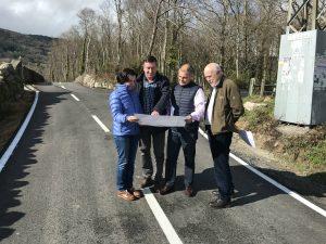 Obras de mejora en caminos de Llaviada, en Boal 2