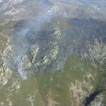 La BRIF de Tineo se incorpora en su primer día a la extinción del fuego en Belmonte