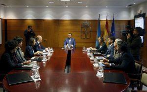 Reunión Consejo de Gobierno del Principado