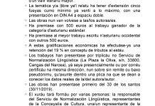 XVII CONCURSU DE CUENTOS CURTIOS DEL CONCEYU CANGAS