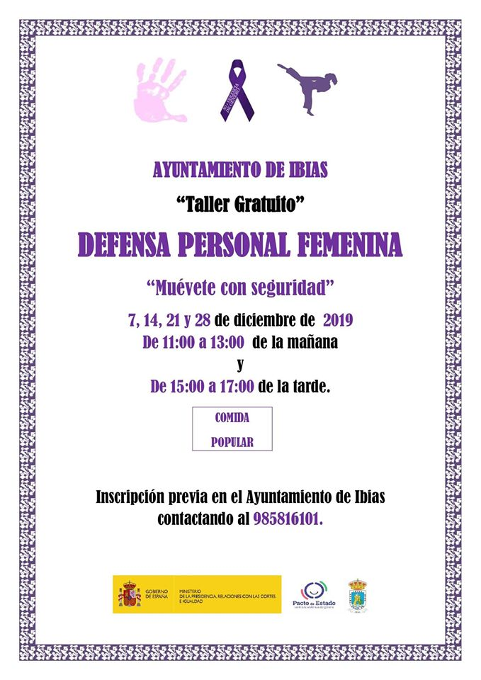 taller defensa ibias