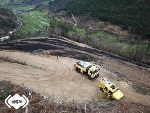21 incendios forestales en Asturias 1