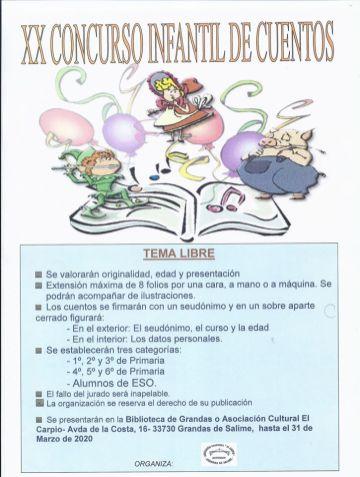 concurso infantil cuentos asociacion el carpio grandas de salime