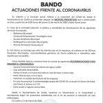 Bando Ayuntamiento Coaña 11/03/2020
