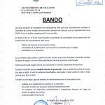 Bando Ayuntamiento Villayón 11/03/2020
