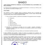 Bando municipal Boal 12/03/2020