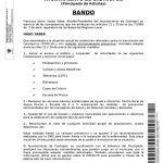 Bando Ayuntamiento Castropol 12/03/2020