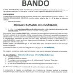 Bando Ayuntamiento Vegadeo 13/03/2020