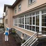 Desinfección en las residencias de mayores de Valdés
