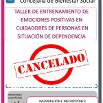 Cancelado taller cuidadores dependencia en Cudillero