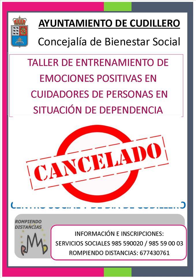Cancelado taller cuidadores dependencia en Cudillero 3
