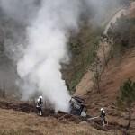 Extinguido un incendio en un tractor en San Pedro de Paredes