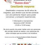Iniciativa 'Buenos días, conectando mayores' en Vegadeo