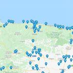 Información puntos de servicio abiertos a transportistas