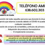 Teléfono Amigo en Coaña