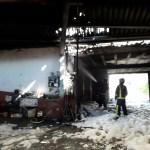 Incendio en una vivienda de El Pedregal, en Tineo