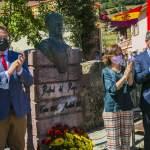 Acto de homenaje a Riego en Tuña (Tineo), su localidad natal
