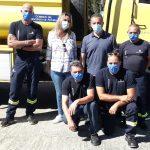 Visita a los parques de bomberos de Ibias y Grandas de Salime