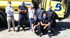 Visita a los parques de bomberos de Ibias y Grandas de Salime 2
