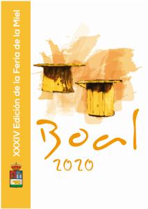 cartel feria de la miel de boal