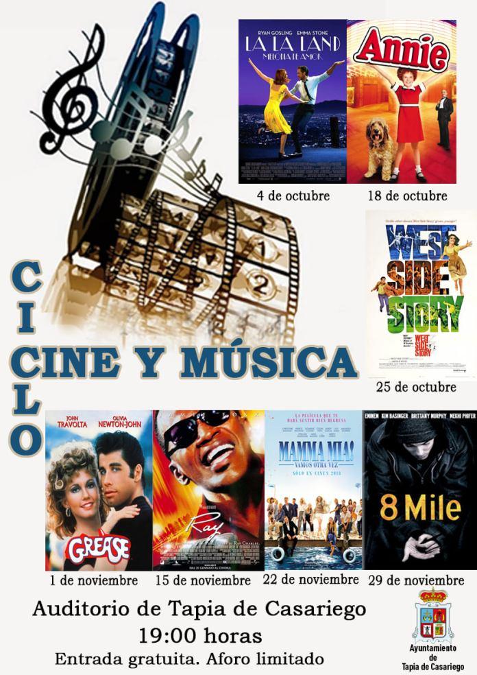 Ciclo 'Cine y Música' en Tapia de Casariego 1