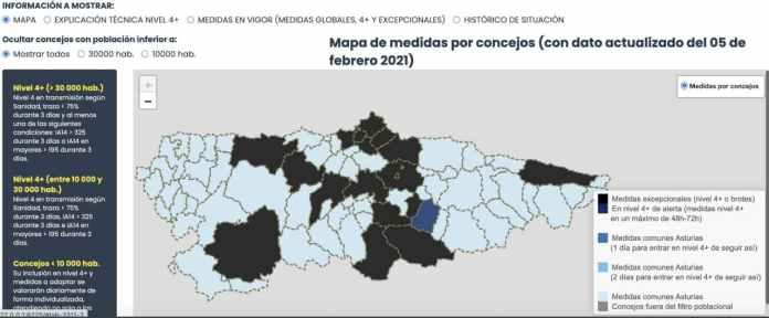 Asturias registra 411 nuevos casos de COVID19 3
