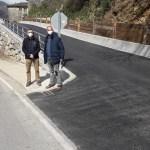 Mejoras en uno de los accesos a Fondos de Vega, en Degaña