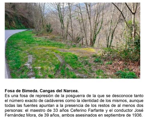 Investigación de fosas comunes en Cangas del Narcea y Somiedo 2