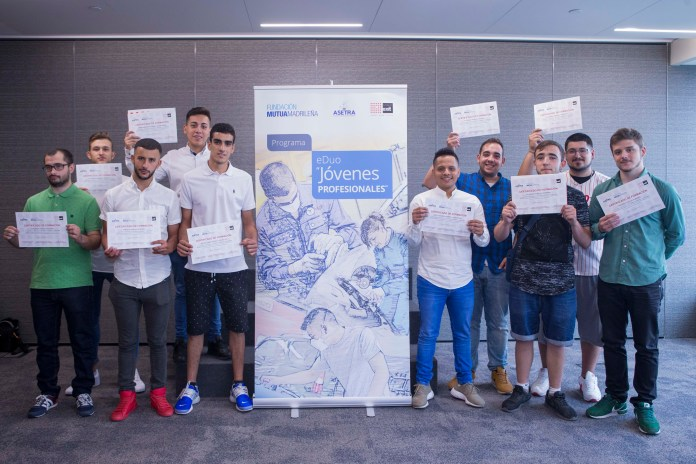 La Fundación Mutua Madrileña acompaña la clausura de la sexta edición de su programa 'Jóvenes profesionales'
