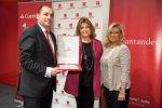 La Comunidad de Madrid renueva la marca Madrid Excelente a Banco Santander
