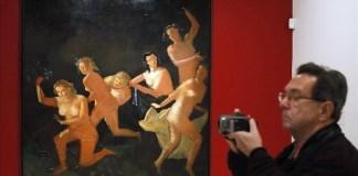 Exposición sobre Derain, Balthus y Giacometti