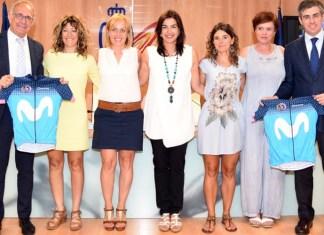 Movistar. Women in Bike