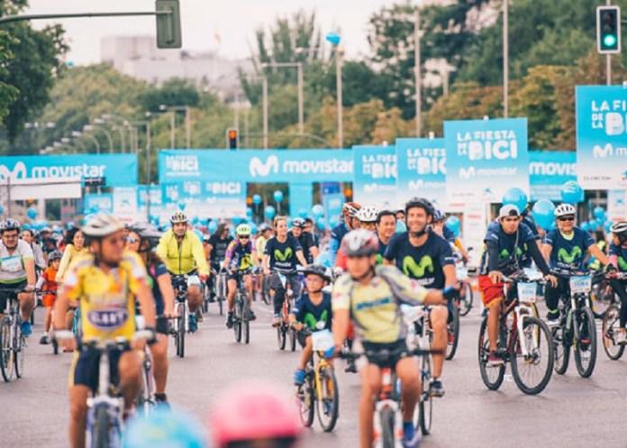 7 de octubre Fiesta de la bici